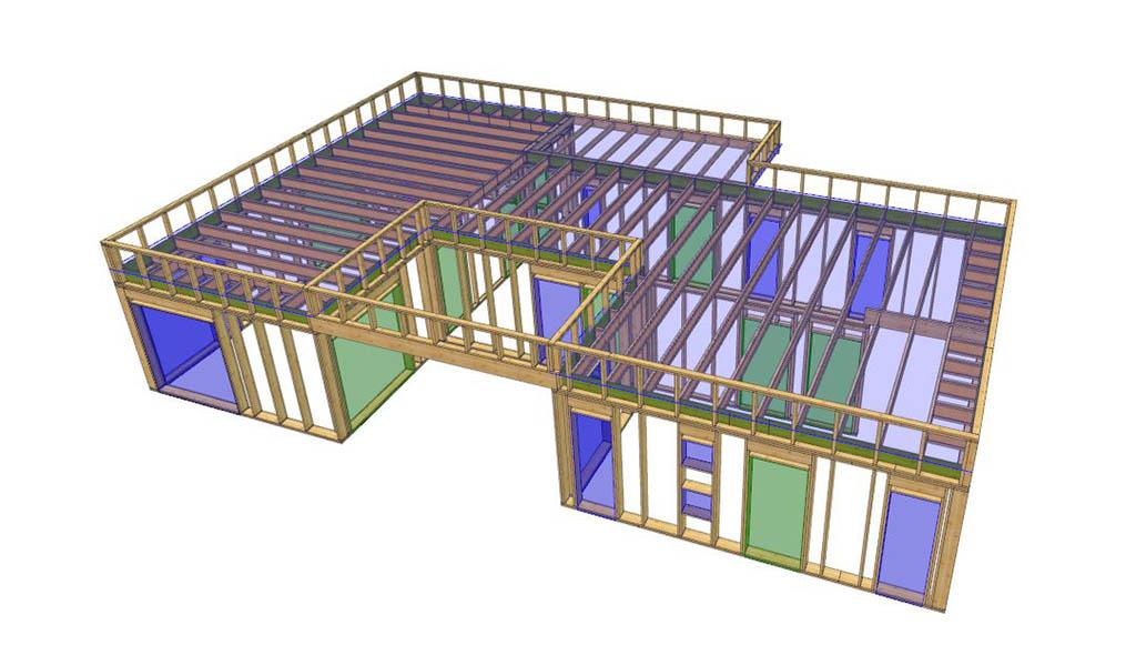 Prosjektering av takstol og precut